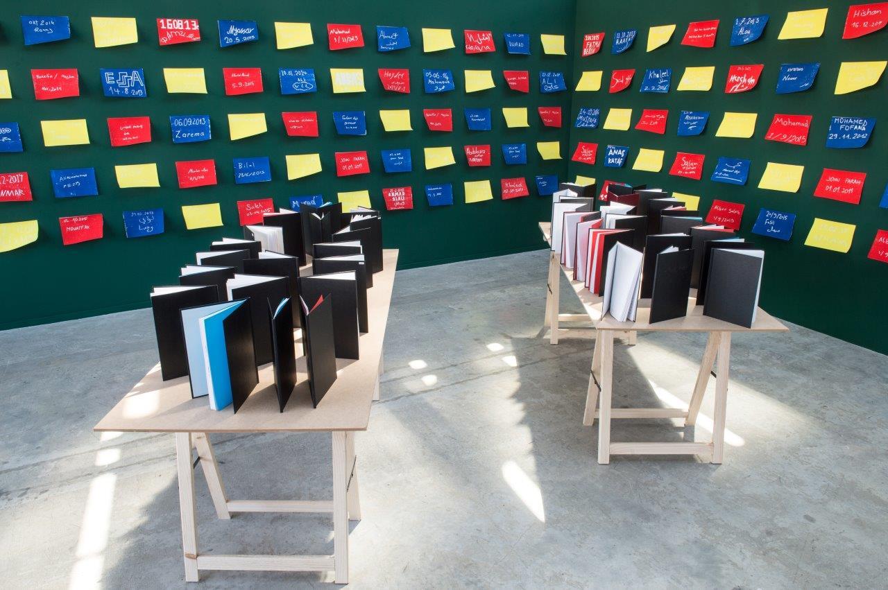 marina-naprushkina-refugees-library-2013-2017-credit-la-kunsthalle-photo-sebastien-bozon-24